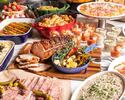 【Weekend lunch buffet】with a glass of soft drink