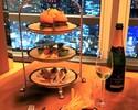 【ラウンジ&バー】ミニバーガーを含む8種のカナッペ& ソフトドリンク フリーフロー 🍾ノンアルコールスパークリング1杯付き