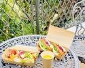 【テイクアウト】PICNIC BOX(サーモン&アボカド&べジタブルサンド・苺ミルフィーユ・本日のシェフ特製スープ)