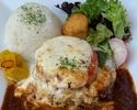 【テイクアウト】ハンバーグのお弁当