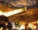 【テラスで樽生ビールと窯焼きピッツァ】前菜4皿+ピッツァ2種+イタリア風串焼き! テラス席でビアガーデン気分を満喫「テラッツァ A」! ※フリードリンク2時間付き