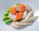Advanced Purchase [Karin] Takeout Sautéed scallops and seasonal vegetables 4,800 yen