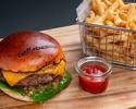 事前決済【The Steakhouse】テイクアウト ステーキバーガー 1,980円
