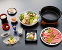 牛すき焼き 「ダブル」【お昼11時~14時30分】