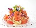 【6/1~7/31】サーモンとトマトの冷製カッペリーニ