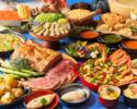 ◆大人/土日【ランチブッフェ】乾杯ロゼスパークリング!海と大地の恵み×北海道食材を堪能.