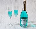 ◆大人/平日【ディナーブッフェ】アニバーサリープレート+幸せの青い泡で乾杯!海と大地の恵み×北海道食材を堪能.