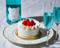 ◆大人/土日【ディナーブッフェ】幸せの青い泡で乾杯+お祝いのケーキ!海と大地の恵み×北海道食材を堪能.