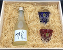 【6/18~6/20 Limited, For Father's Day】Kozue Sake+Kiriko glass set