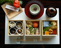 """Seasonal Special Bento """"Soso""""+ 30 kinds of cafe free + Samll assorted desser plate (Seating limited by 2PM)"""