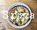 穴子とれんこん(S pizza)
