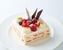 ストロベリーショートケーキ 14cm角型