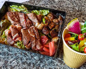 【テイクアウト】尾張牛ロースステーキ重弁当(牛肉150g)&こだわりサラダ