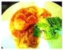 海老の香港式マヨネーズ和え サラダ仕立て