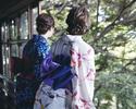 【WEB予約限定1ドリンクプレゼント!】<女性(綿麻素材)/アフタヌーンティー>浴衣プラン
