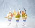 【7・8月】岡山県産マスカットと白桃のフルーツパフェ