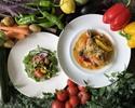 農家野菜とビストロ料理のお昼ごはん