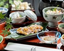 【昼食】 鱧と紀州梅豚御膳