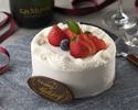 [Option] Fresh cream cake 12cm 1-2 people
