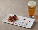【父の日ランチ】ビール1杯&食後のカフェ×前菜やメイン&デザートが選べるプリフィクスランチコース全4皿