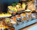 【Lunch 】Bランチ 前菜、メイン、デザート+サラダバー全4品