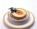 ビスククラウンメロンと渡り蟹のビスクスープコース
