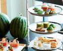 【Weekend:Semi Private Room B 】Watermelon Afternoon Tea🍉+ 1 Original Cocktail