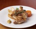 【通常価格】九州産「みつせ鶏」骨付き肉の炭火焼き
