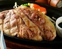 愛知県産銘柄豚の網焼き