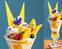 【7月】トロピカルフルーツパフェ ¥1,500
