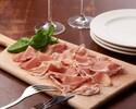 【通常価格】イタリア産生ハムとサラミの盛り合わせ
