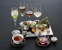 【平日限定 ノンアルコールペアリング3種】  百花繚乱 〈テーブル席〉