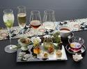 【日本料理×ノンアルコールペアリング4種】一期一会 〈窓側テーブル席〉