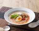 トマトスープの海鮮冷やし担々麺