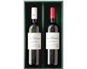 フランス ボルドー 紅白ワイン詰合 化粧箱入