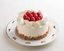 🔶12cmショートケーキ 誕生日、結婚記念日などのお祝いにどうぞ <お食事のオーダーと一緒にご注文ください。>