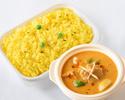 印度咖哩套餐(配藏紅花飯)