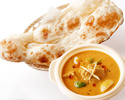 印度咖喱套餐(配 Buitter Nan)