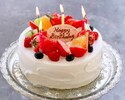<18cm> Whole cake  * Reservations until noon 3 days in advance
