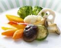 温野菜の取り合わせサラダ