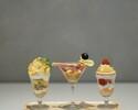 【夜パフェ】3種のミニパフェ食べ比べセット