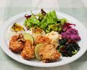 【選べる!カウカウセット】選べるメイン&デザート+ミニ・コブサラダ&1ドリンク付き
