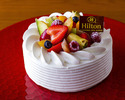 【Annivarsary】Fres Cream Short Cake 12cm