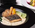【選べる1ドリンク付 / DINNER CASUAL COURSE】前菜2品、メイン料理、デザートの全4品