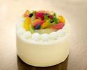フルーツショートケーキ 3号サイズ