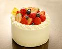 いちごのショートケーキ 4号サイズ
