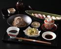 【平日限定!乾杯ドリンク付き】炙り寿司と稲庭蕎麦ランチ【相部屋プラン】