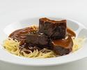 牛頬肉の赤ワイン煮込み ~じっくり煮込んだ柔らかな味わい~