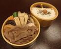 【店頭渡し】松茸すき焼弁当¥4320