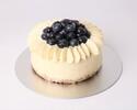 ブルーベリーチーズケーキ12cm